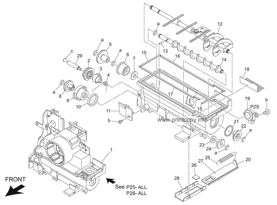 Parts Catalog > Konica-Minolta > bizhub 421 > page 26