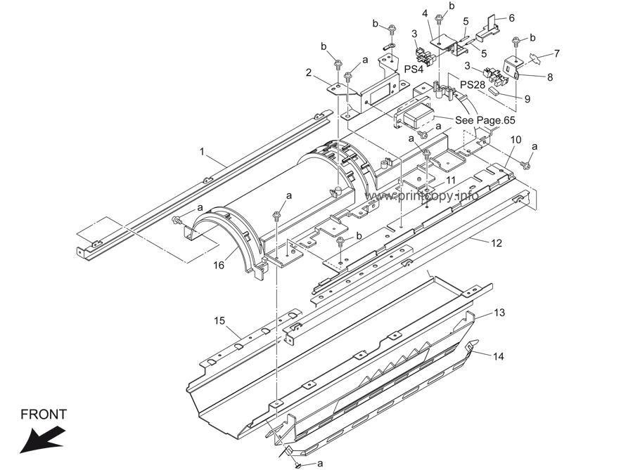Parts Catalog > Konica-Minolta > bizhub 421 > page 29