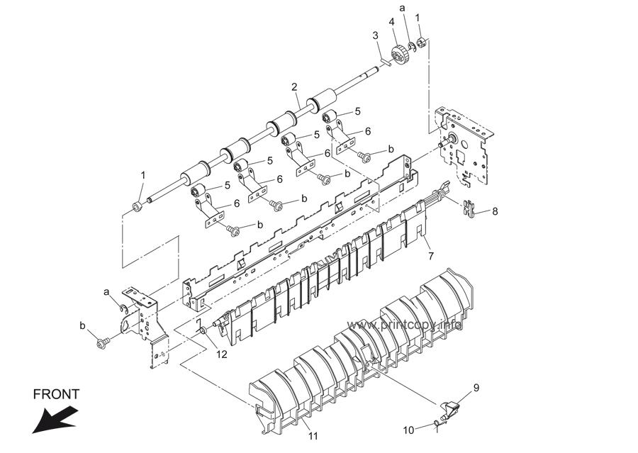 Parts Catalog > Konica-Minolta > bizhub 421 > page 40