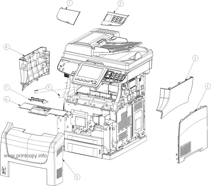 Parts Catalog > Konica-Minolta > bizhub 43 > page 2
