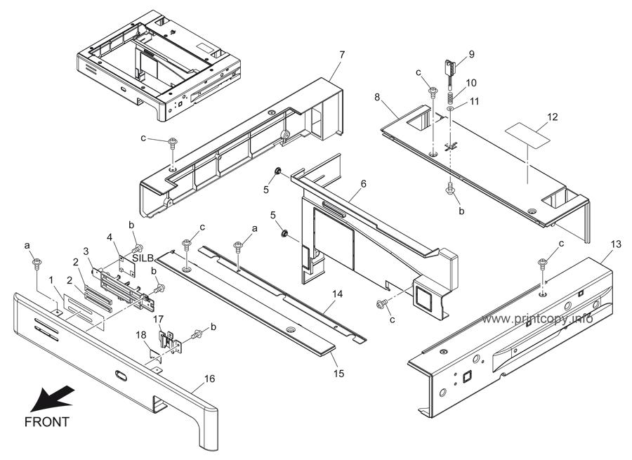 Parts Catalog > Konica-Minolta > bizhub 501 > page 5