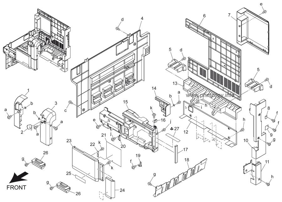 Parts Catalog > Konica-Minolta > bizhub 501 > page 6