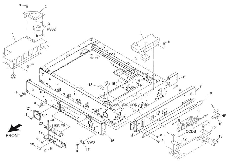 Parts Catalog > Konica-Minolta > bizhub 501 > page 8