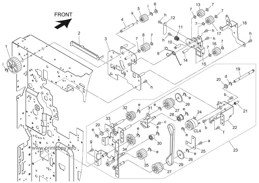 Parts Catalog > Konica-Minolta > bizhub 501 > page 16