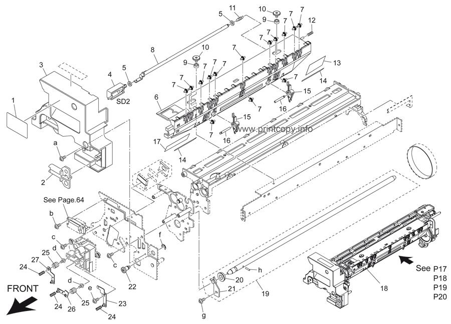 Parts Catalog > Konica-Minolta > bizhub 501 > page 17
