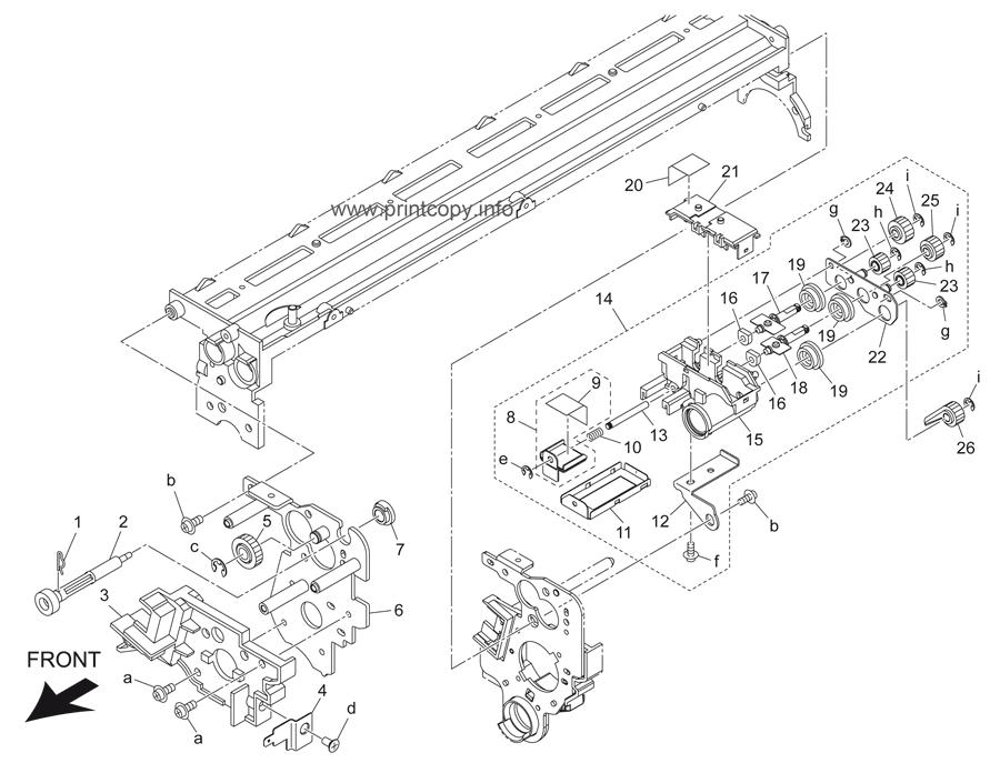 Parts Catalog > Konica-Minolta > bizhub 501 > page 19