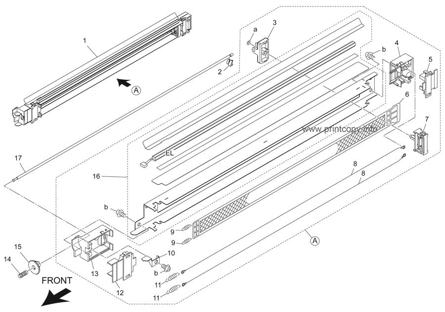 Parts Catalog > Konica-Minolta > bizhub 501 > page 21