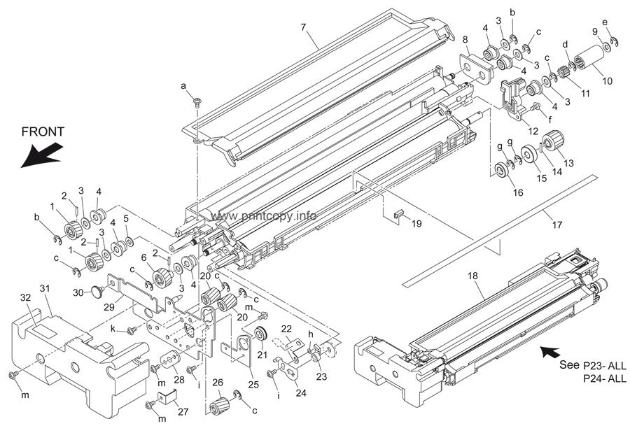 Parts Catalog > Konica-Minolta > bizhub 501 > page 24