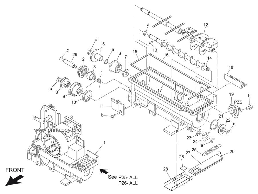 Parts Catalog > Konica-Minolta > bizhub 501 > page 26