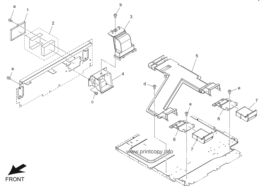 Parts Catalog > Konica-Minolta > bizhub 501 > page 30