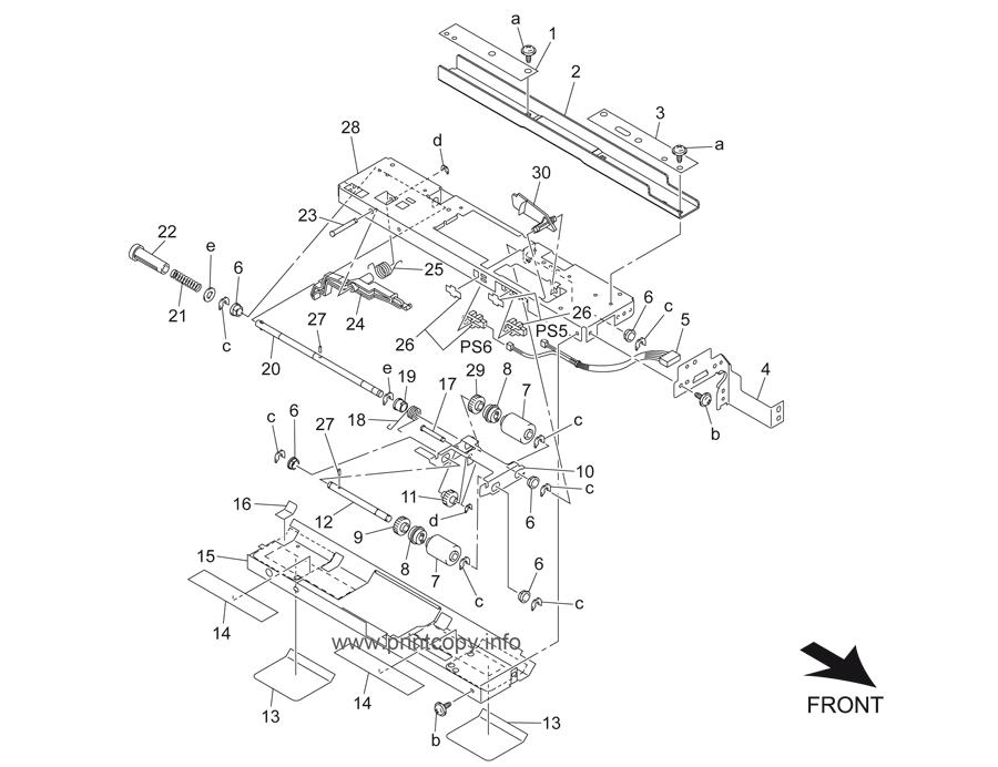 Parts Catalog > Konica-Minolta > bizhub 501 > page 31