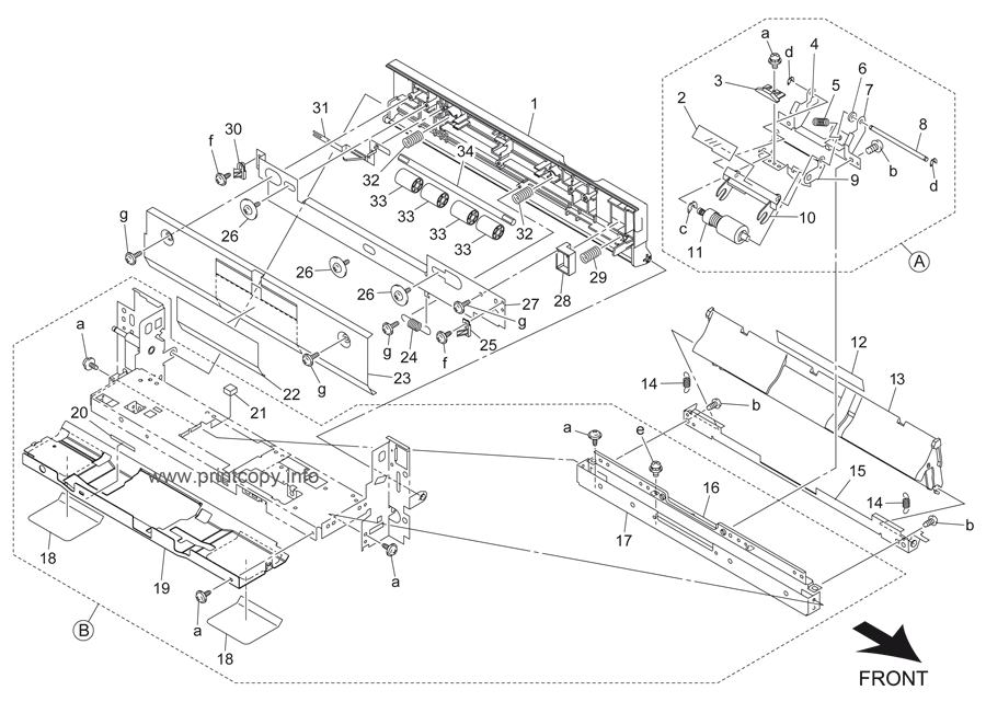 Parts Catalog > Konica-Minolta > bizhub 501 > page 34