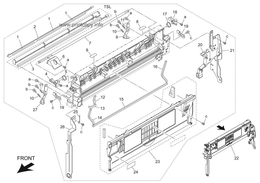 Parts Catalog > Konica-Minolta > bizhub 501 > page 41