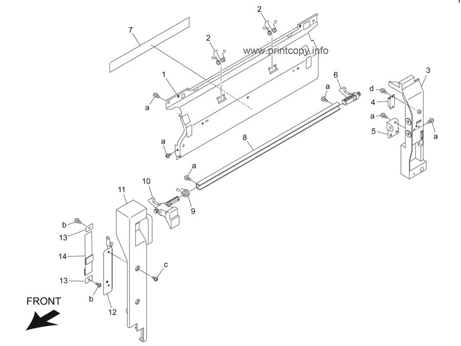 Parts Catalog > Konica-Minolta > bizhub 501 > page 48