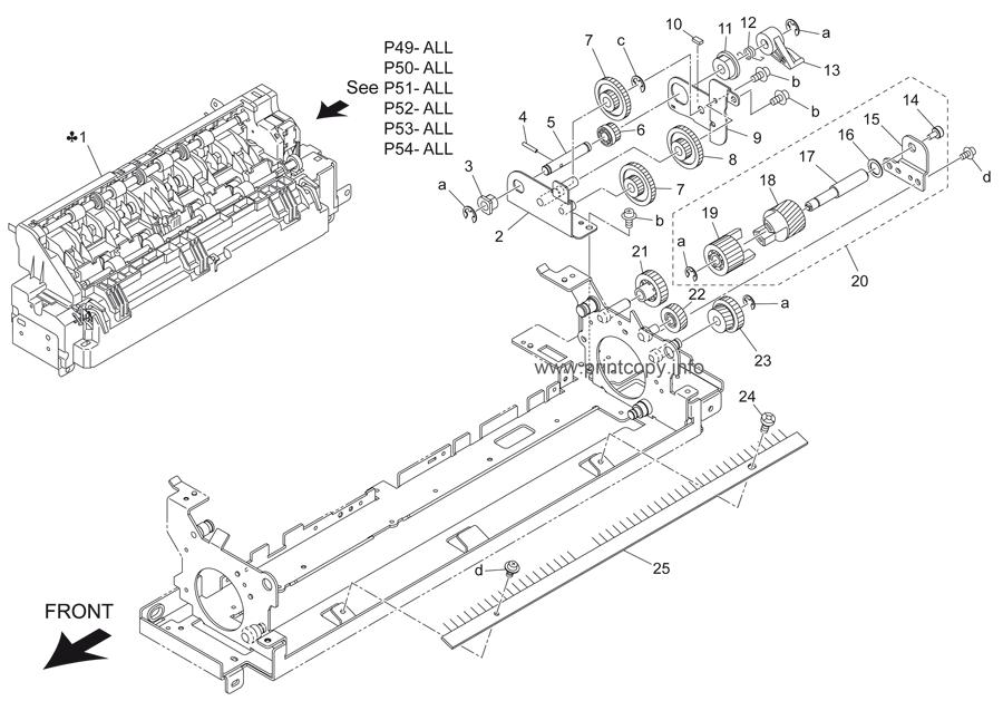 Parts Catalog > Konica-Minolta > bizhub 501 > page 51