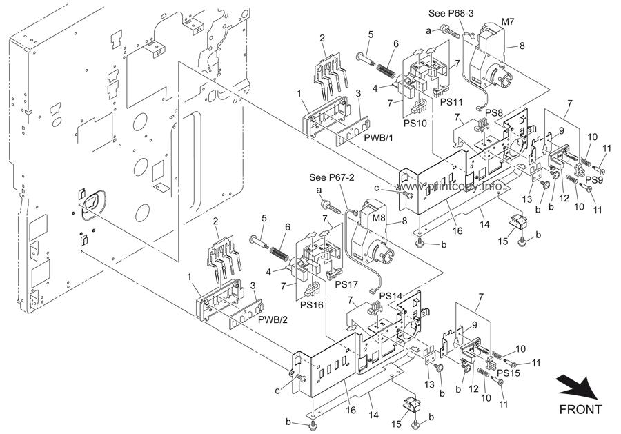 Parts Catalog > Konica-Minolta > bizhub 501 > page 55