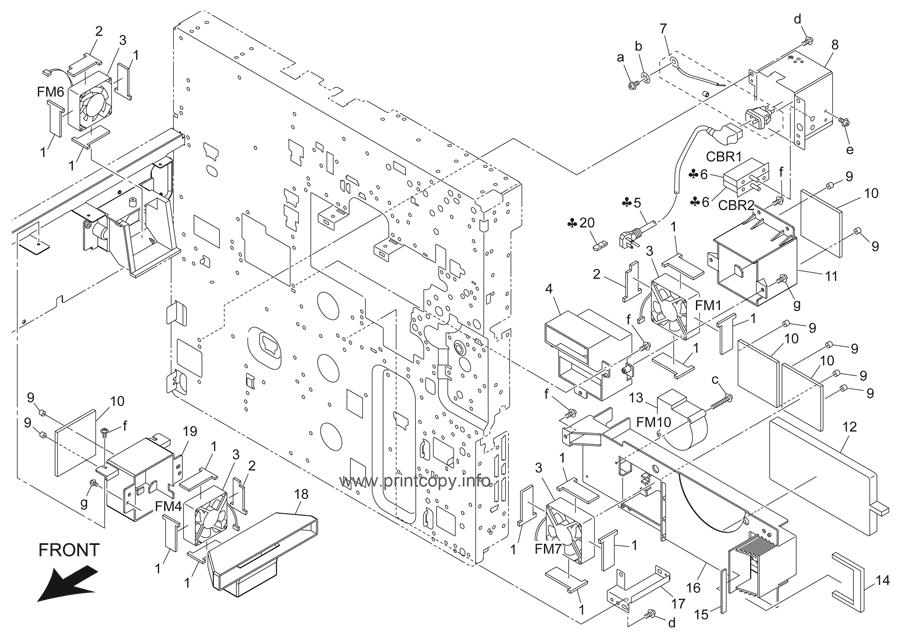 Parts Catalog > Konica-Minolta > bizhub 501 > page 57