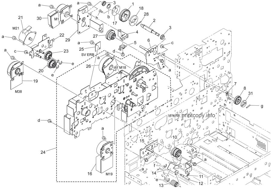 Parts Catalog > Konica-Minolta > bizhub 552 > page 69