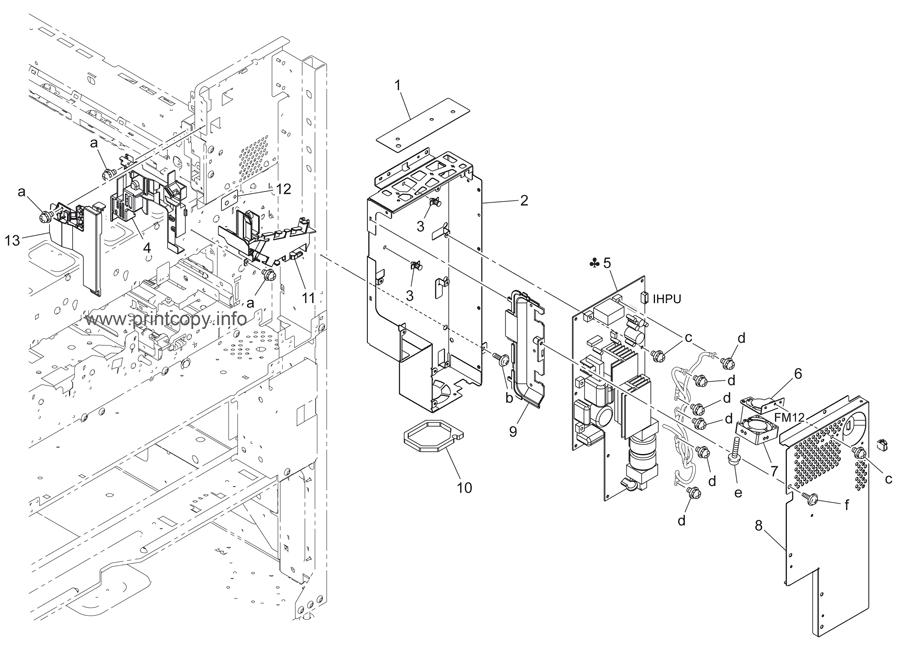 Parts Catalog > Konica-Minolta > bizhub 502 > page 84