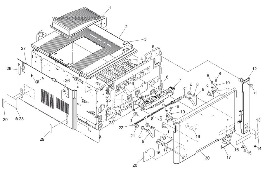 Parts Catalog > Konica-Minolta > bizhub C200 > page 1