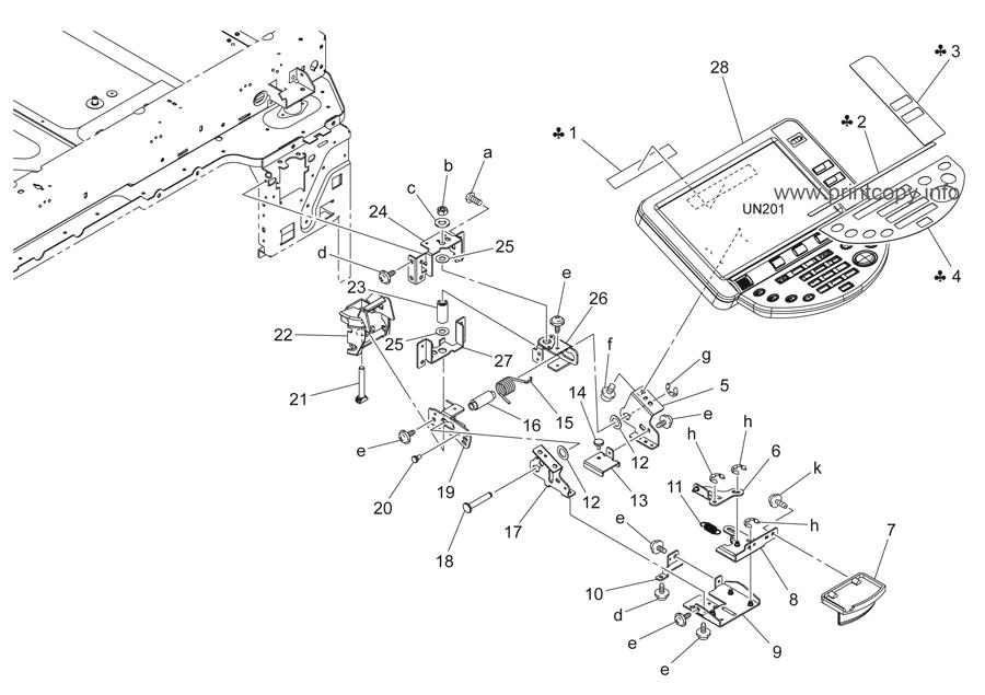 Parts Catalog > Konica-Minolta > bizhub C253 > page 4