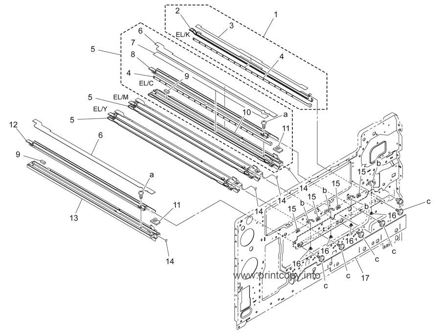Parts Catalog > Konica-Minolta > bizhub C353 > page 14