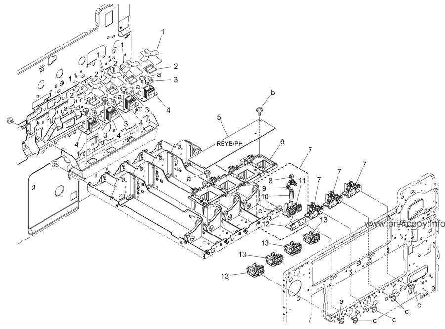 Parts Catalog > Konica-Minolta > bizhub C353 > page 16
