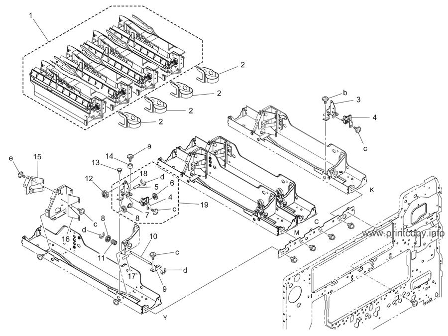 Parts Catalog > Konica-Minolta > bizhub C353 > page 17