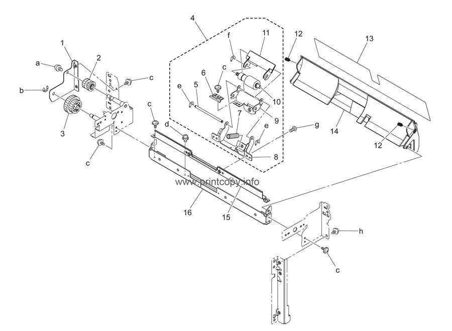 Parts Catalog > Konica-Minolta > bizhub C253 > page 22