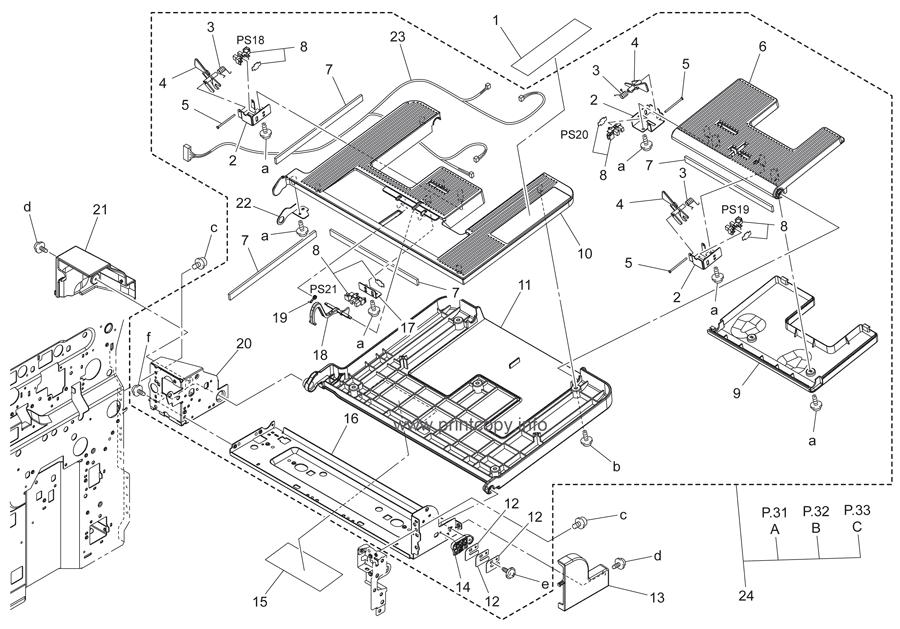 Parts Catalog > Konica-Minolta > bizhub C353 > page 30