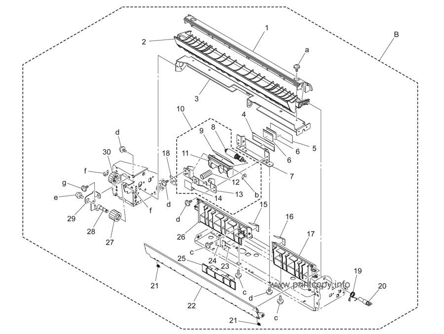 Parts Catalog > Konica-Minolta > bizhub C253 > page 32