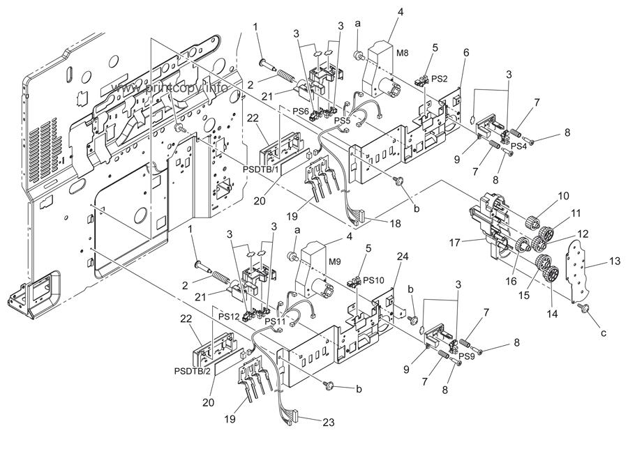 Parts Catalog > Konica-Minolta > bizhub C203 > page 47
