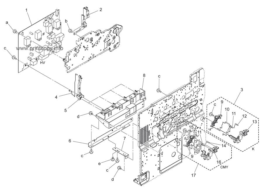 Parts Catalog > Konica-Minolta > bizhub C253 > page 48
