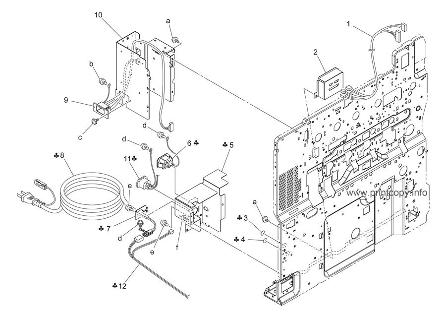 Parts Catalog > Konica-Minolta > bizhub C253 > page 50