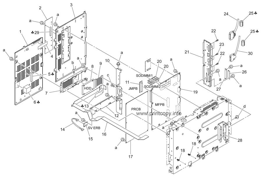 Parts Catalog > Konica-Minolta > bizhub C253 > page 52