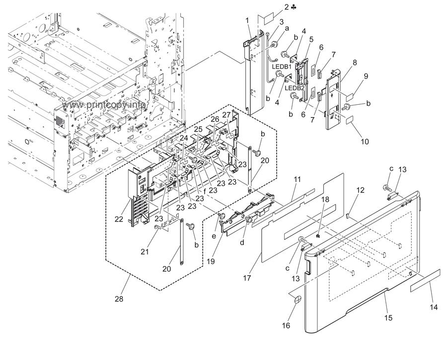 Parts Catalog > Konica-Minolta > bizhub C220 > page 1