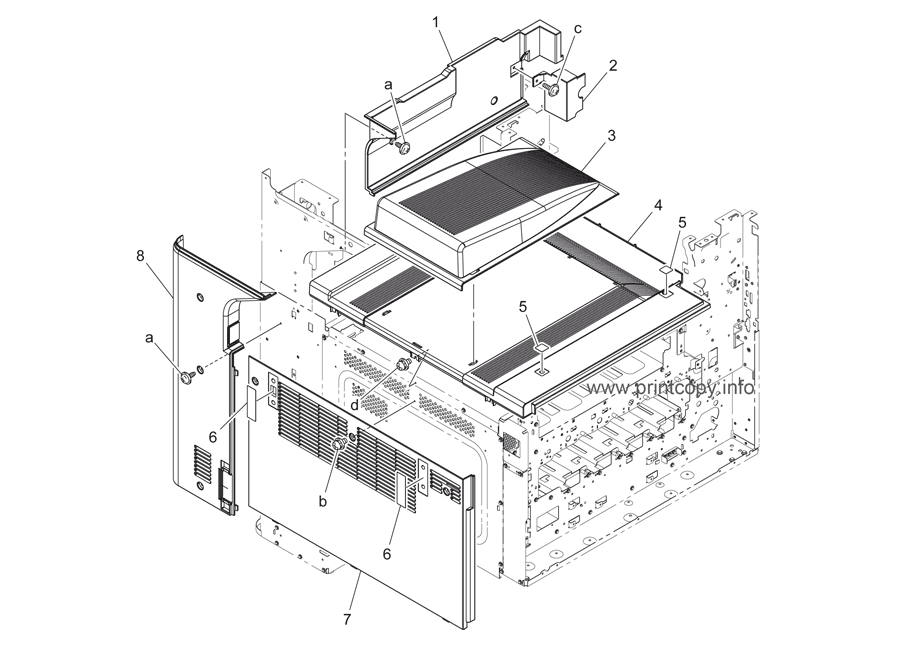 Parts Catalog > Konica-Minolta > bizhub C220 > page 2