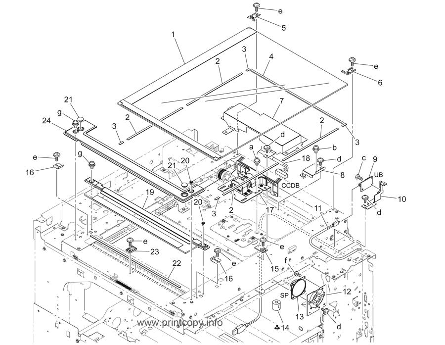 Parts Catalog > Konica-Minolta > bizhub C220 > page 6