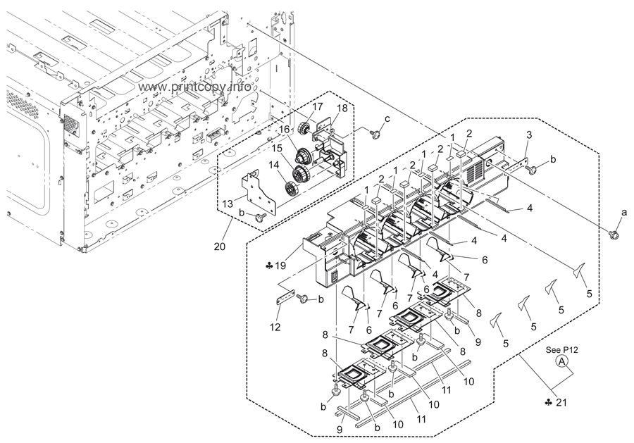 Parts Catalog > Konica-Minolta > bizhub C280 > page 11
