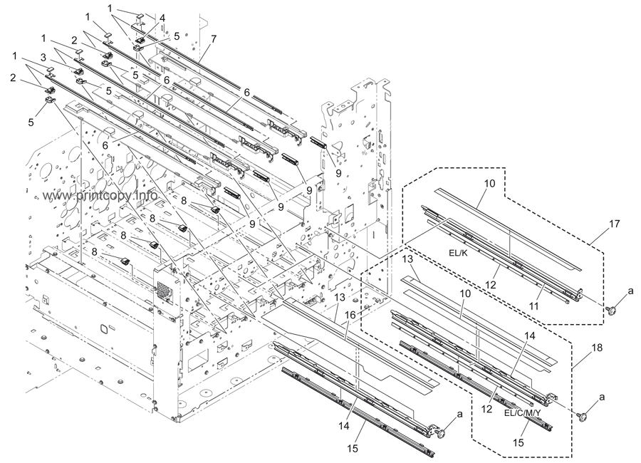 Parts Catalog > Konica-Minolta > bizhub C360 > page 14