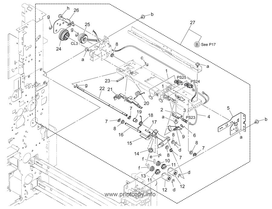Parts Catalog > Konica-Minolta > bizhub C280 > page 16