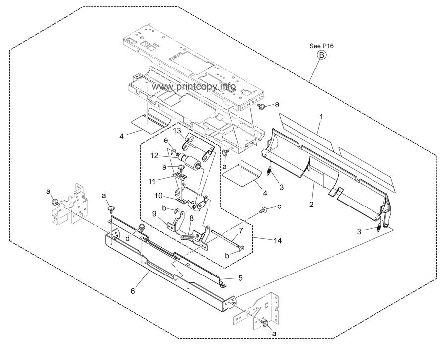 Parts Catalog > Konica-Minolta > bizhub C220 > page 17