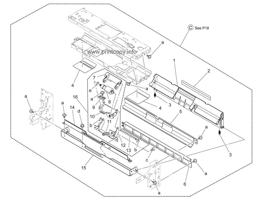Parts Catalog > Konica-Minolta > bizhub C220 > page 19