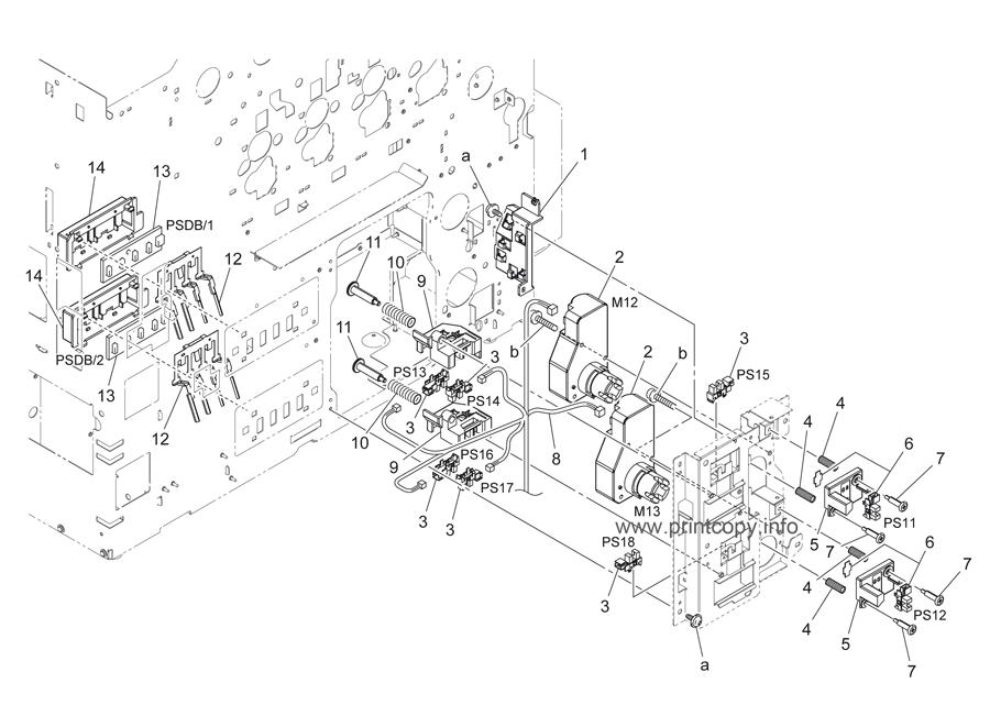 Parts Catalog > Konica-Minolta > bizhub C220 > page 20