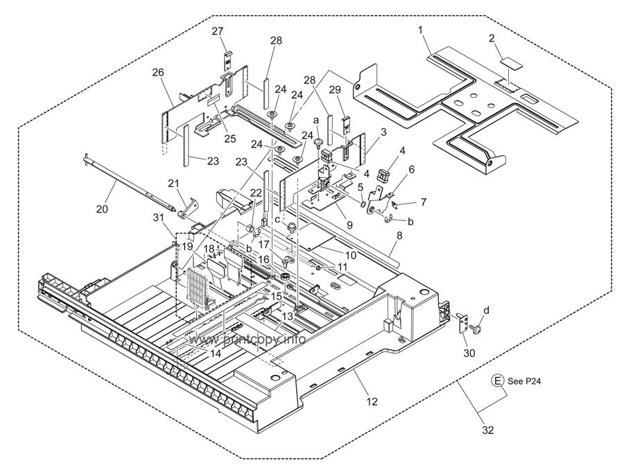 Parts Catalog > Konica-Minolta > bizhub C280 > page 23
