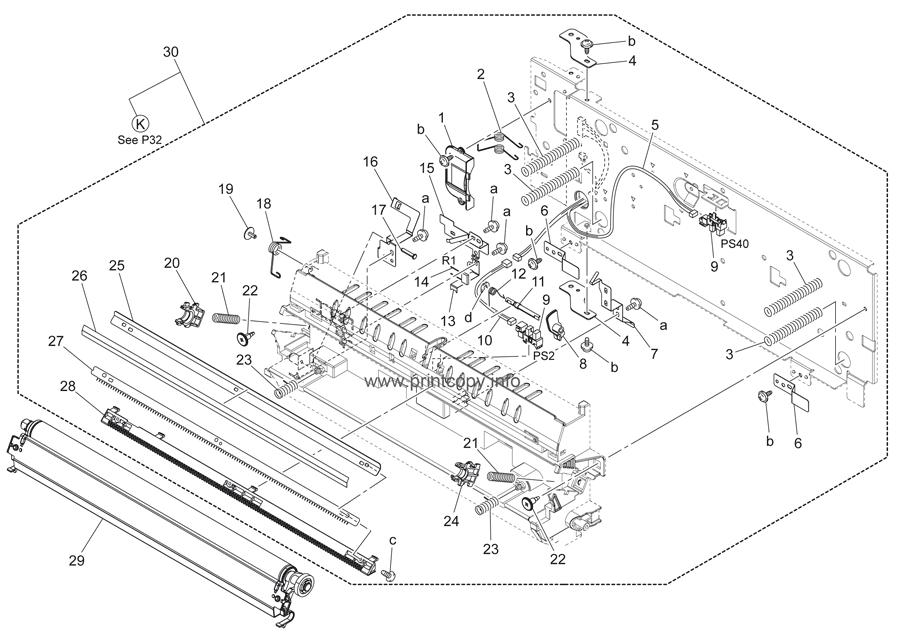 Parts Catalog > Konica-Minolta > bizhub C360 > page 31