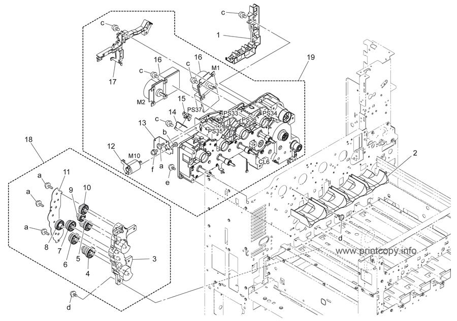 Parts Catalog > Konica-Minolta > bizhub C280 > page 36