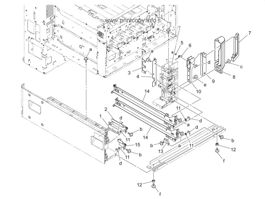 Parts Catalog > Konica-Minolta > bizhub C360 > page 39