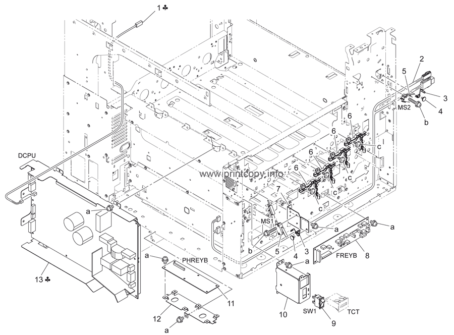 Parts Catalog > Konica-Minolta > bizhub C360 > page 40
