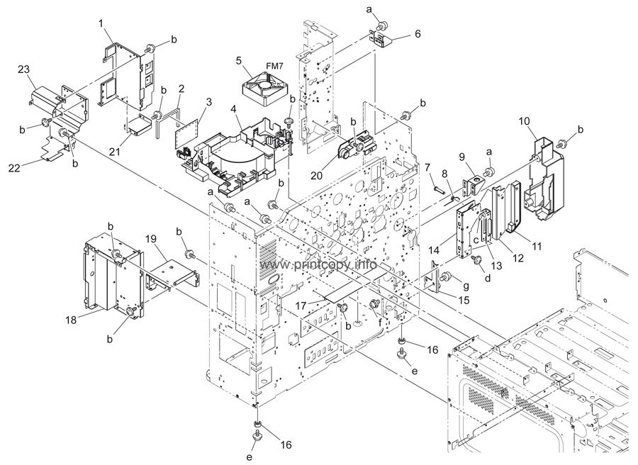 Parts Catalog > Konica-Minolta > bizhub C220 > page 42